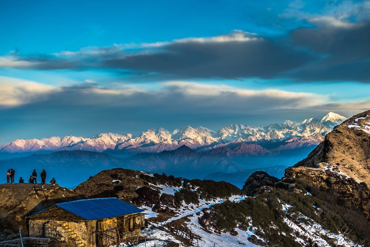 Himalaya View from Kalinchowk