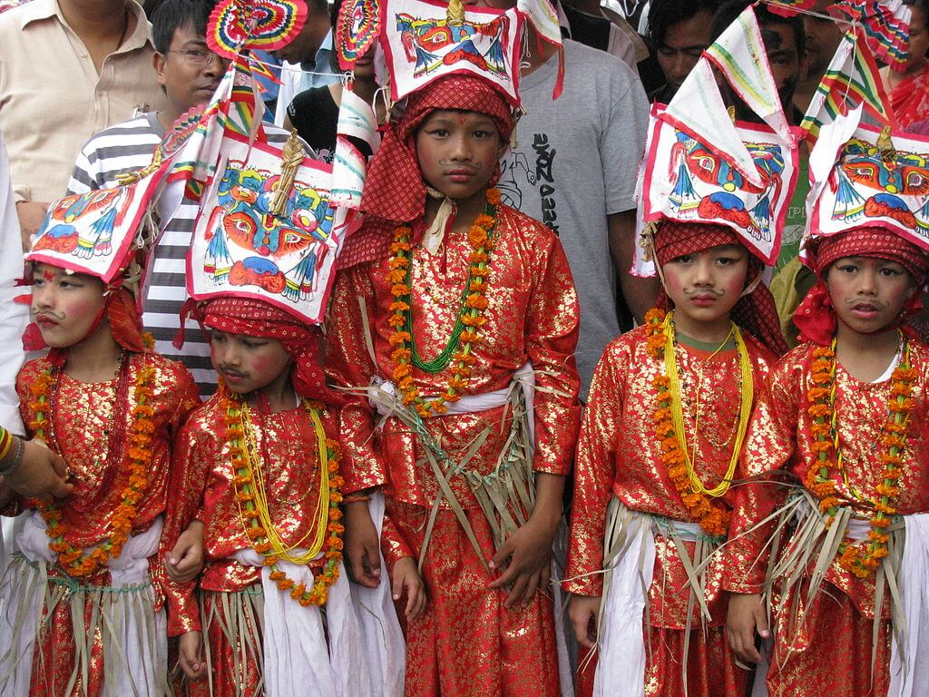 Gai Jatra in Kathmandu