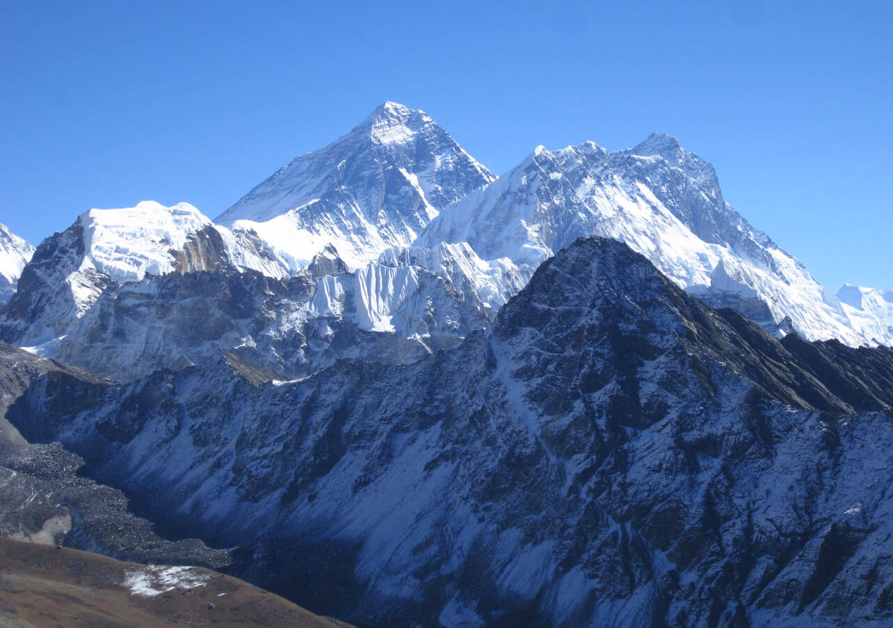 Mount Everest from Kalapatthar