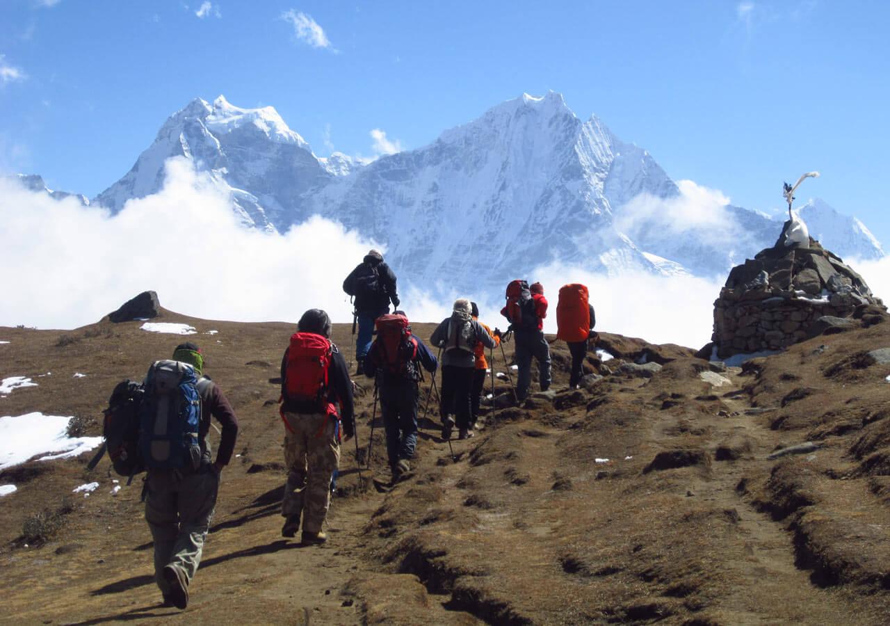 Trekking at Everest
