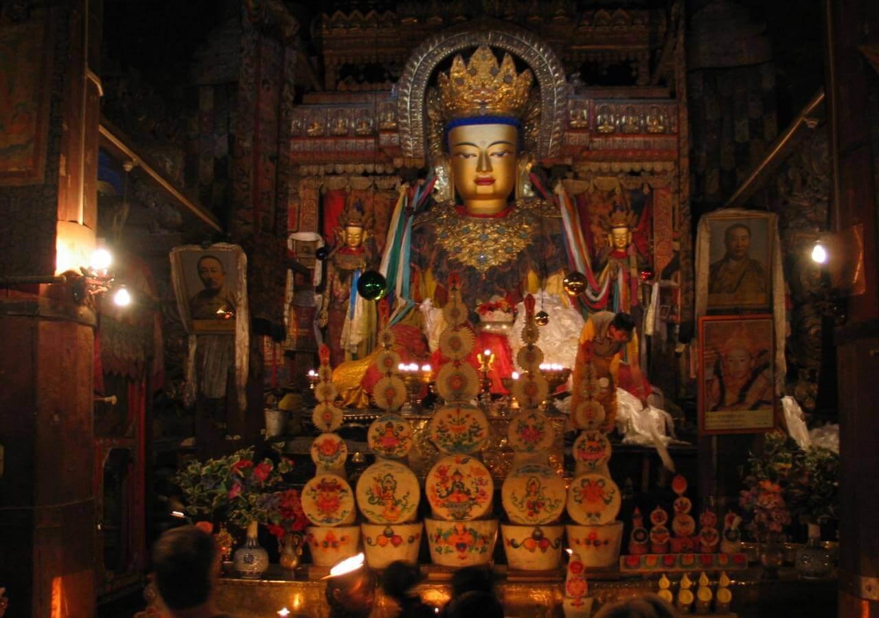 Buddha at Lhasa