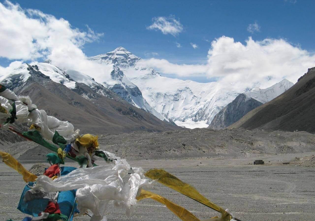 Everest Base Camp at Tibet
