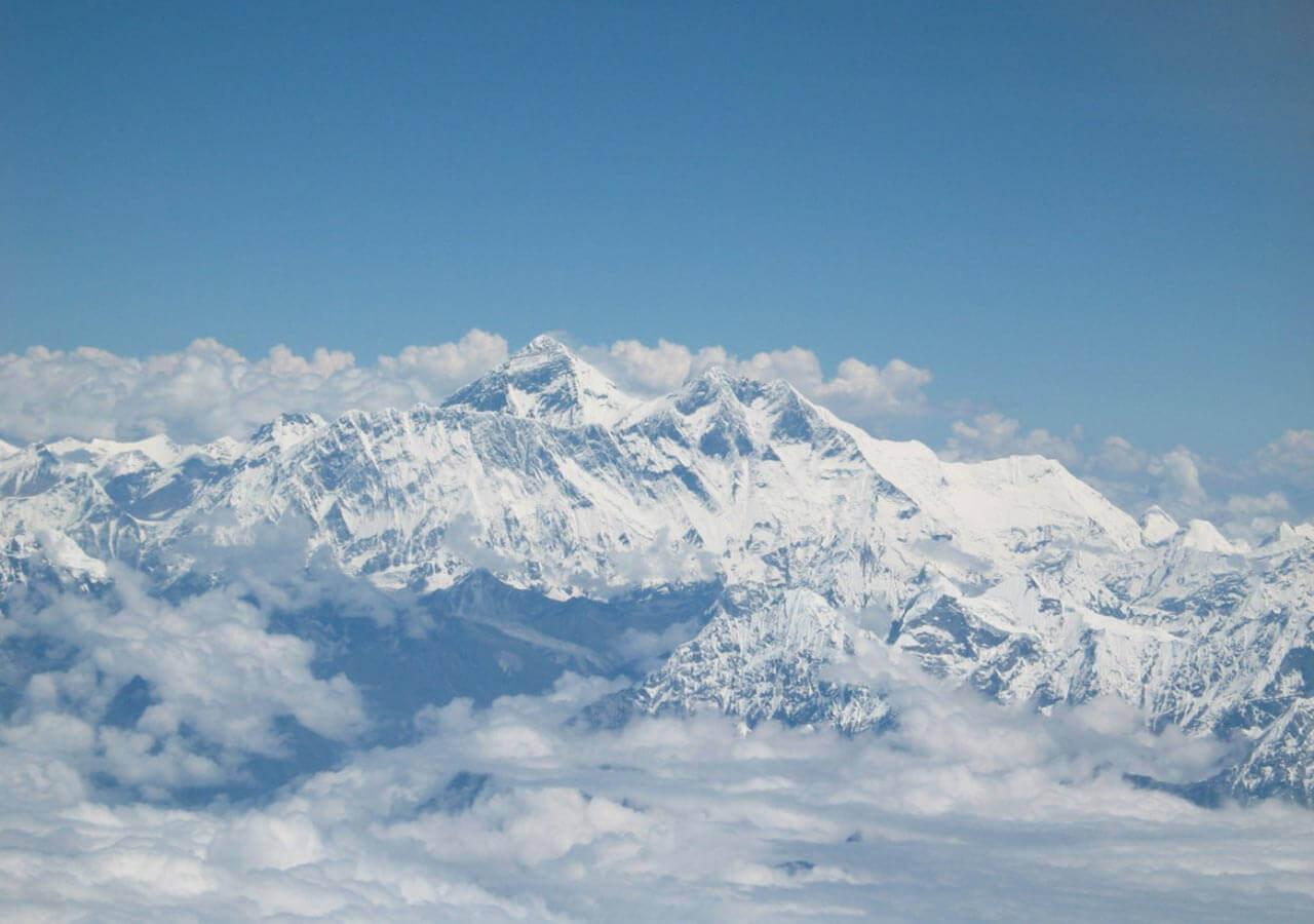 Mt. Everest during Lhasa flight