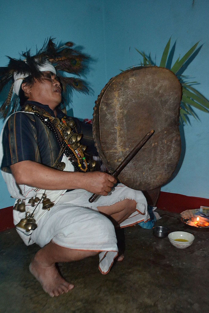 Shamanism practiced during kool pooja by Nepal's Magars of Western Nepal.