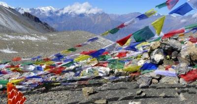 Thorong La Pass in Annapurna Circuit Trekking